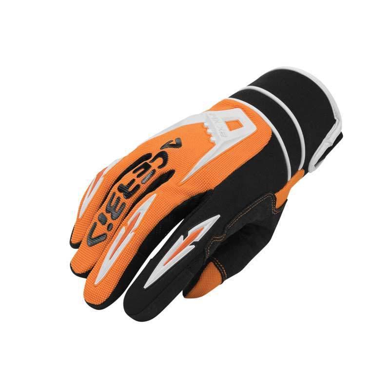 Rukavice Acerbis MX - X2, oranžové