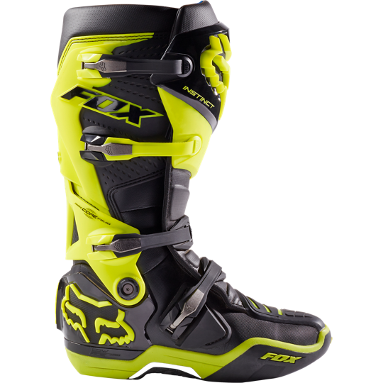 c068583f58a Boty FOX Instinct Black Yellow   MX Shop Freestyle-shop.cz - Enduro ...