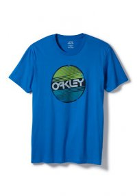 OAKLEY Factory Circle T shirt - electric blue