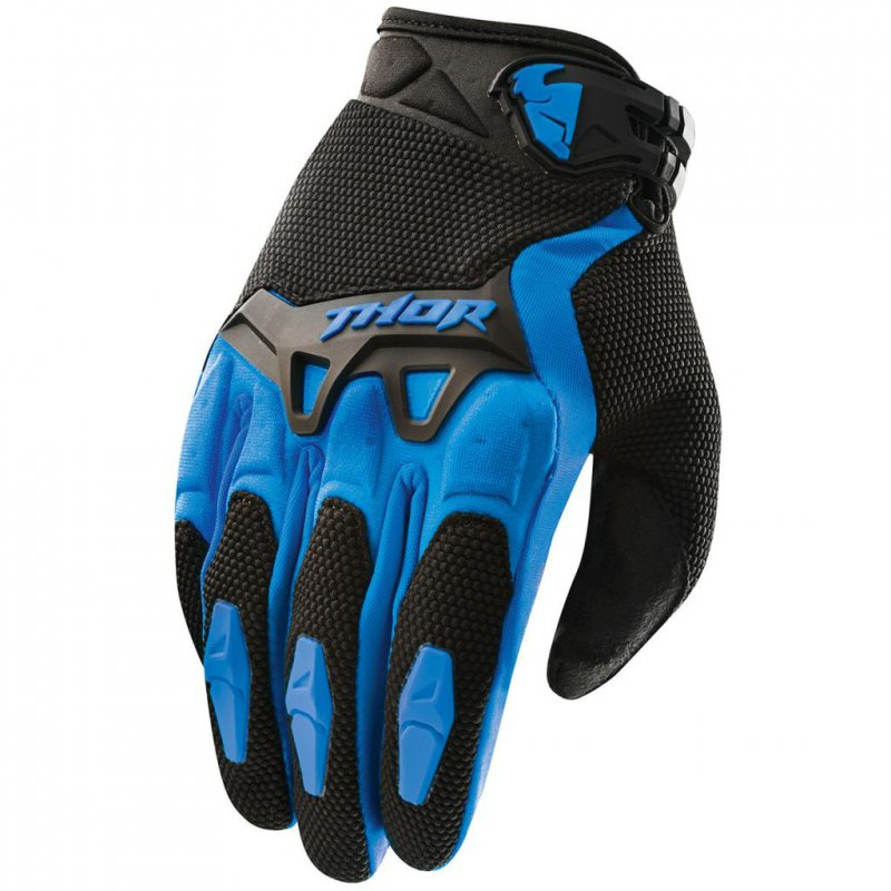 Thor Spectrum Gloves - modrá 16