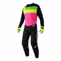 Komplet Troy Lee Designs GP Prisma 2018 - flo pink