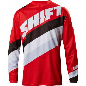 Dres SHIFT White Tarmac Red 17