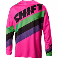 Dres SHIFT White Tarmac Black/Pink 17