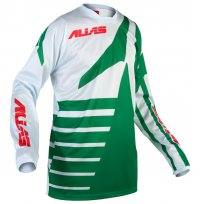 dres ALIAS MX A2 divide green/stone