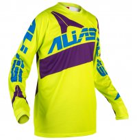 dres ALIAS MX A2 neon yellow/purple