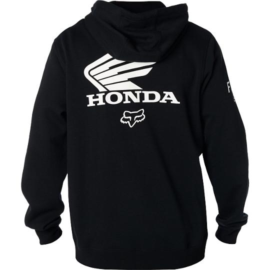 Pánská mikina Fox Honda Zip Black   MX Shop Freestyle-shop.cz ... fffbb22a9e