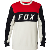 Mikina Fox Hellbent Crew Light Grey 18