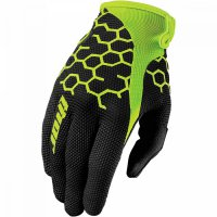THOR Draft Glove - comb black/flo green