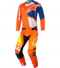 Komplet ALPINESTARS Techstar Factory orange flo/blue/white/yellow flo 18