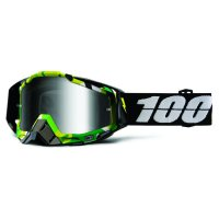 100% Racecraft Bootcamp Goggle - mirror/clear lens