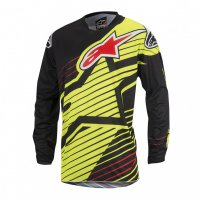 Dres Alpinestars Racer Braap Yellow Fluor/Black 17