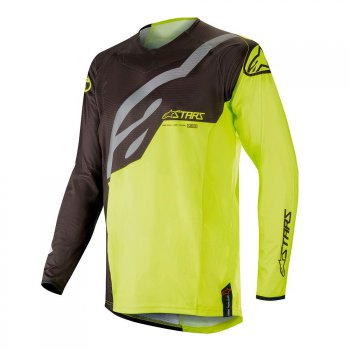 ALPINESTARS Techstar Factory Jersey 19 - black/yellow fluo