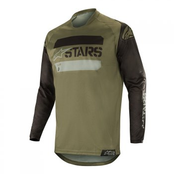 ALPINESTARS Racer Tactical Jersey 19 - black/military green