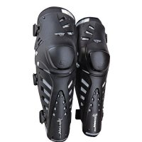 FOX Titan Pro Knee Guard black/silver