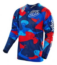 TROY LEE DESIGNS SE AIR Jersey Cosmic camo blue 16