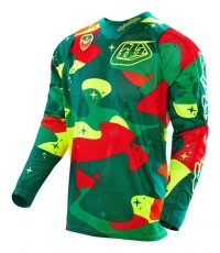 TROY LEE DESIGNS SE AIR Jersey Cosmic camo green 16