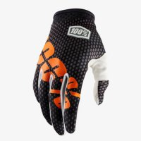 100% iTrack Gloves - charcoal