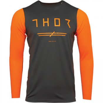 THOR Prime Pro Unrivaled Dres 21 - charcoal/flo orange