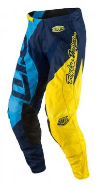 Kalhoty TROY LEE DESIGNS GP AIR Quest blue/yellow 17