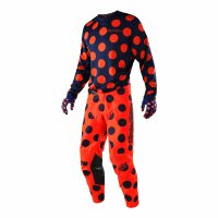 Komplet Troy Lee Designs GP AIR 2018 Polka Dot - navy/orange