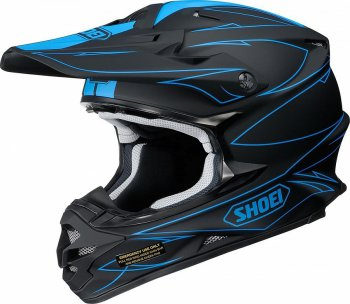 SHOEI VFX-W Hectic Helmet - black/blue