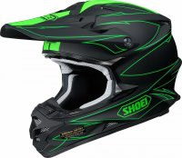 SHOEI VFX-W Hectic Helmet - black/green