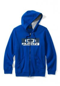 OAKLEY CRACKLE GRIFFINS NEST FLEECE - sapphire