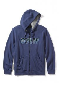 OAKLEY FACTORY PILOT FLEECE - blue indigo