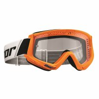 THOR Combat Goggle - flo orange/black