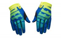 DEFT FAMILY EQVLNT Phantom Gloves - blue/aqua