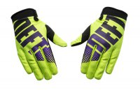 DEFT FAMILY EQVLNT Phantom Gloves - green/purple