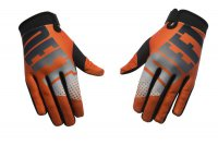 DEFT FAMILY EQVLNT Phantom Gloves - orange/black