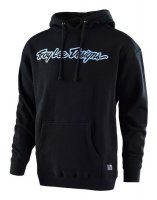 TROY LEE DESIGNS Signature Hoody - black/blue