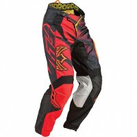 Kalhoty Fly Kinetic Inversion red