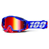 100% Racecraft Republic brýle - mirror/clear lens