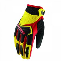 THOR Spectrum Glove 18 - yellow/black/red