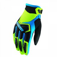 THOR Spectrum Glove 18 - green/black/blue