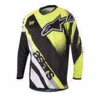 Dres Alpinestars Racer Supermatic black/yellow fluo/grey 18