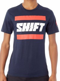 SHIFT 3Lack Label Tee - heather midnight 18