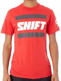 SHIFT 3Lack Label Tee - red 18
