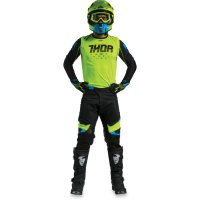 Komplet THOR Prime Fit Rohl 18 - flo green/black