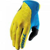 THOR Draft Glove - indi yellow/blue