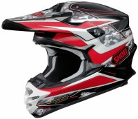 SHOEI VFX-W - Turmoil TC-1 - red/black