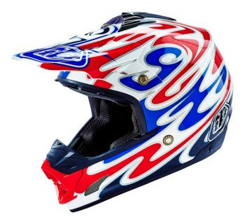 TROY LEE DESIGNS SE3 HELMET REFLECTION WHITE 16