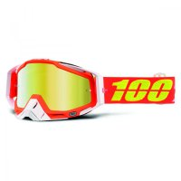 100% Racecraft Razmataz Goggle - mirror/clear lens