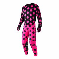 Komplet Troy Lee Designs GP Polka Dot 2018 - black/pink
