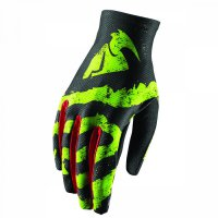THOR Void Rampant Glove 18 - lime/red