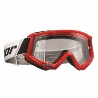 THOR Combat Goggle - red/black