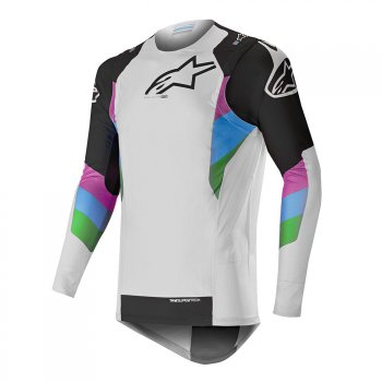 ALPINESTARS Supertech Jersey LE Vision 19 - cool gray/black