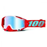 100% Racecraft Kepler brýle - mirror/clear lens